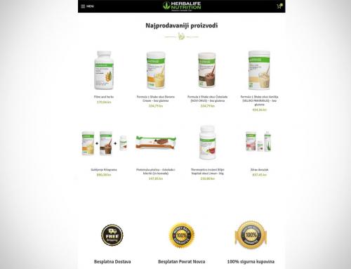 Kako Smršaviti Web shop